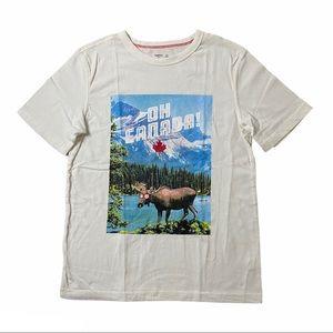 GAP Kids Oh Canada! Short Sleeve Tshirt Size L